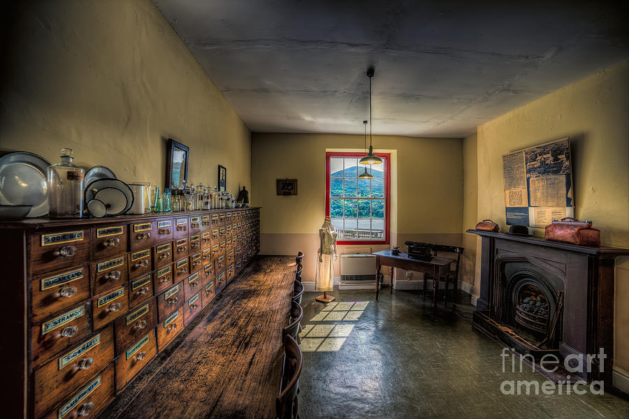 British Photograph - Doctors Office by Adrian Evans