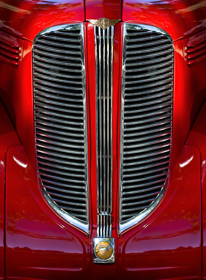 Dodge Brothers Photograph - Dodge Brothers Grille by Jill Reger