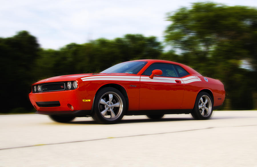 Dodge Photograph - Dodge Challenger by Bill Cannon