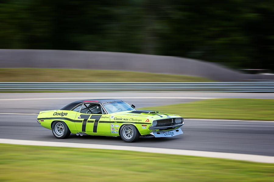 Dodge Photograph - Dodge Challenger by Bill Wakeley