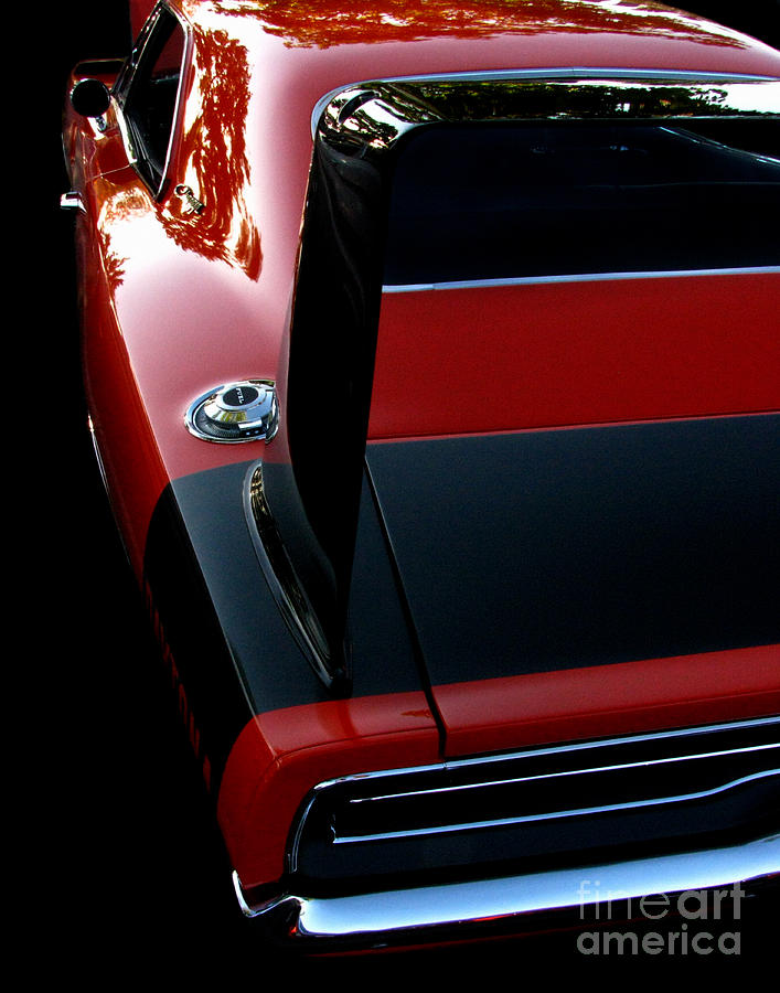 Dodge Daytona Photograph - Dodge Daytona Fin by Peter Piatt
