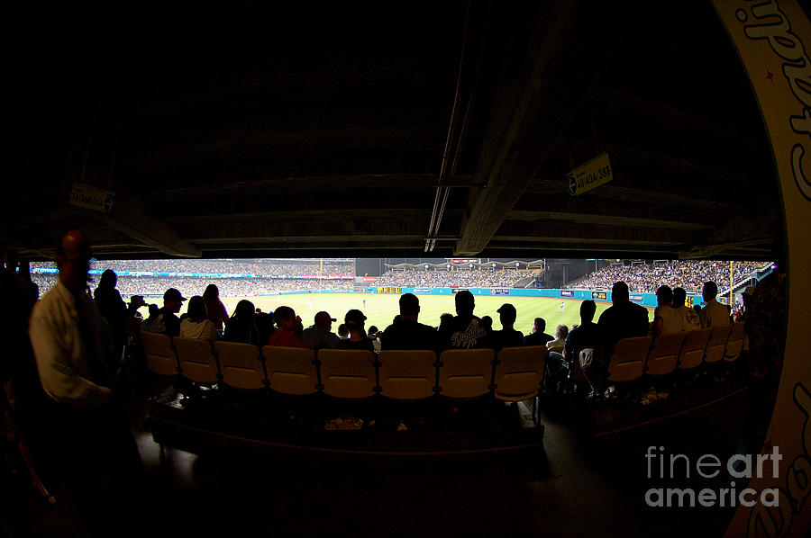 Dodgers Photograph - Dodger Stadium 2 by Micah May