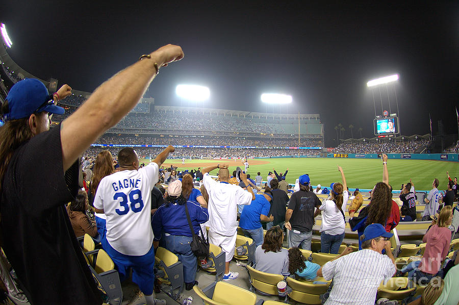 Dodgers Photograph - Dodger Stadium 3 by Micah May