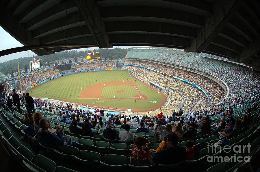 Dodgers Photograph - Dodger Stadium by Micah May