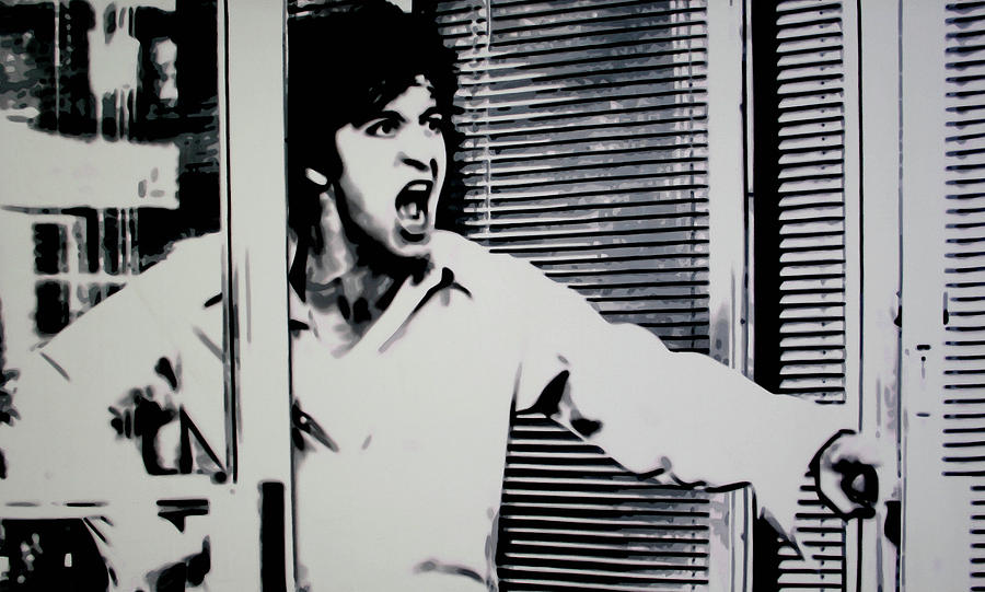Al Pacino Painting - Dog Day Afternoon by Luis Ludzska