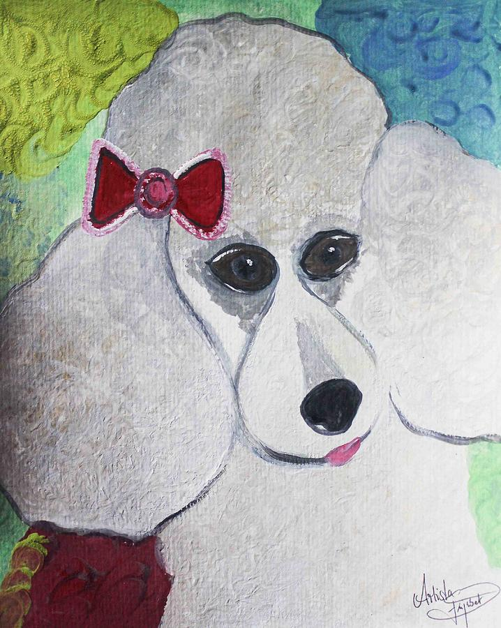 Colorful Mixed Media - Dog Lover by Artista Elisabet