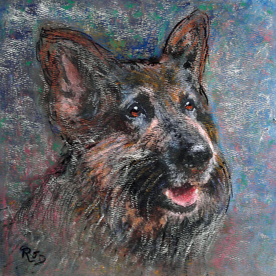 Doggy Dreams Painting