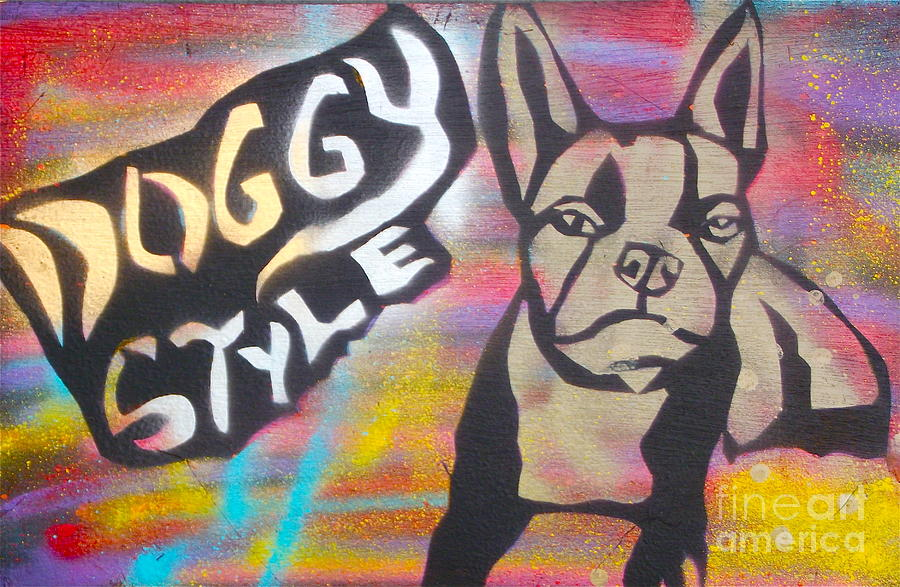 Political Paintings Painting - Doggy Style 1 by Tony B Conscious