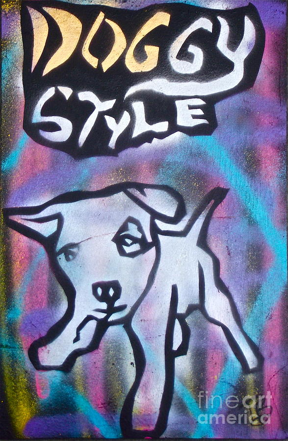 Political Paintings Painting - Doggy Style 2 by Tony B Conscious