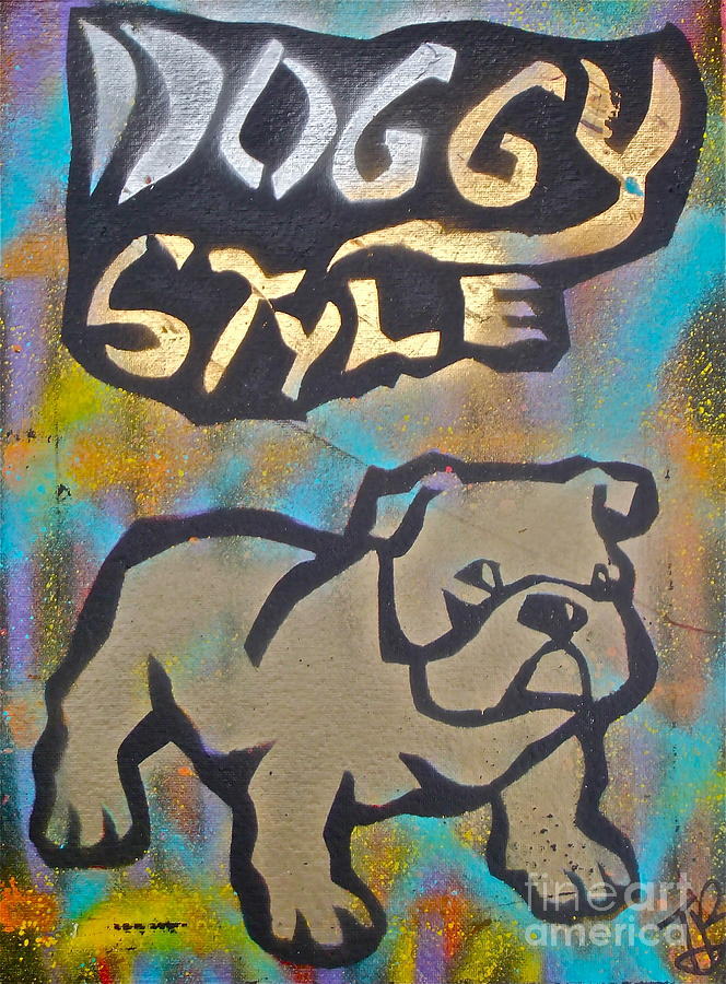 Political Paintings Painting - Doggy Style 3 by Tony B Conscious