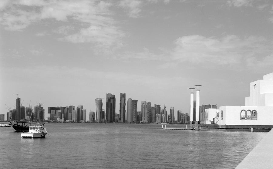 Doha Photograph - Doha Bay Dec 26 2012 by Paul Cowan