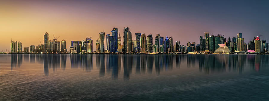 Doha Photograph - Doha Reflections by Antoni Figueras