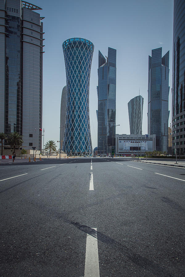 Doha Photograph - Doha Road by Charlie Tash
