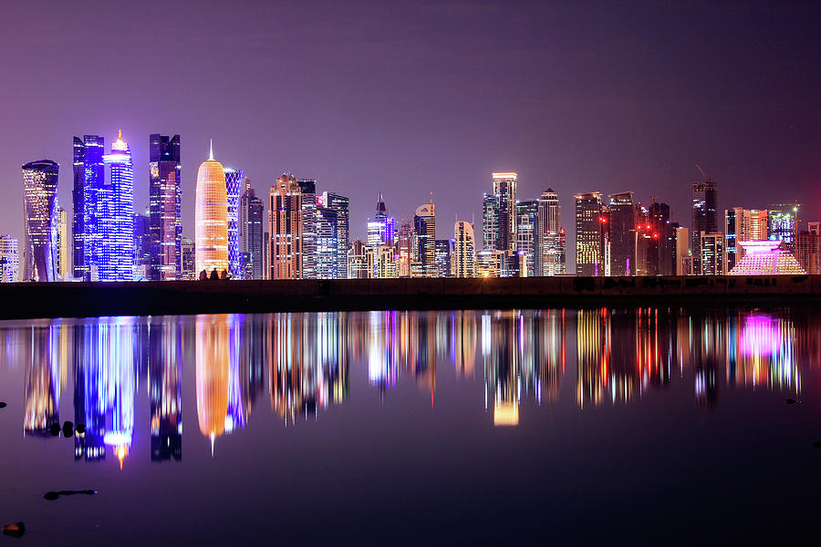 Doha Skyscrapers Photograph by Photography By Lubaib Gazir