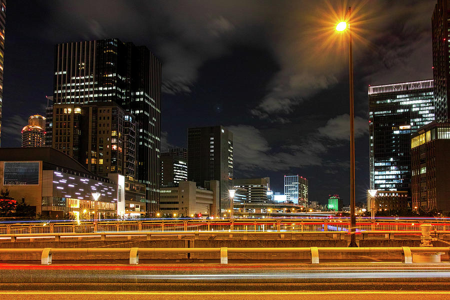 Dojima River Night View Photograph by I Love Photo And Apple.