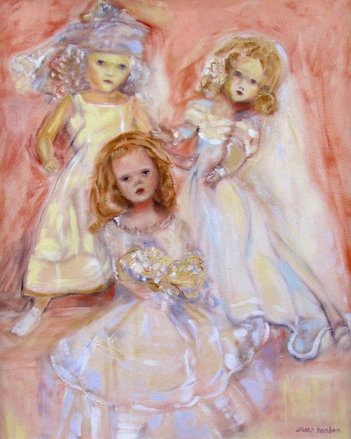 Madame Alexander Painting - Doll Fancy by Susan Hanlon