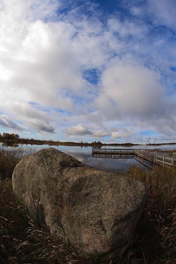 Michigan Photograph - Dollarville Dock by Brady D Hebert