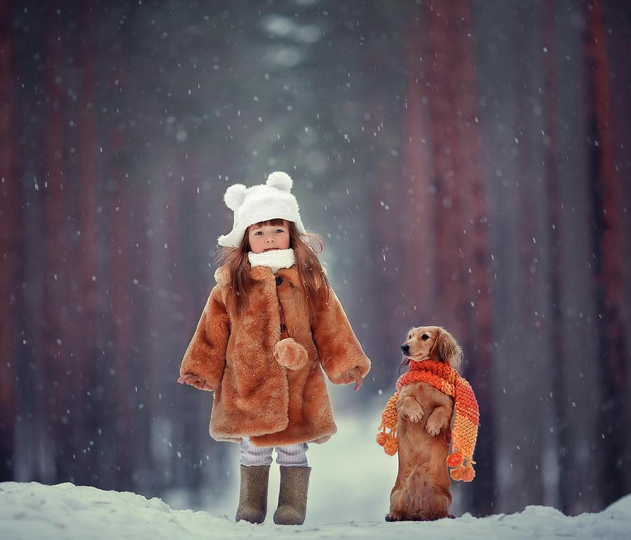 Cute Photograph - Dolls by Anna Melnikova