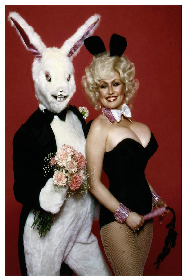 Dolly With Playboy Rabbit by Brian Graybill