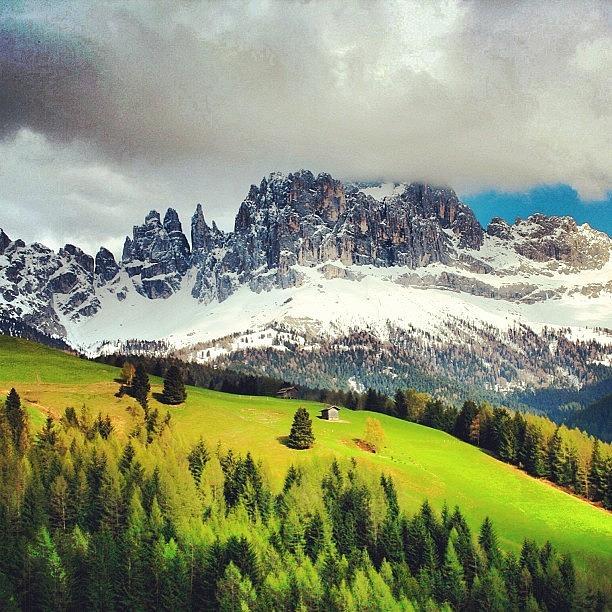 Nature Photograph - #dolomiti #catinaccio #südtirol by Luisa Azzolini
