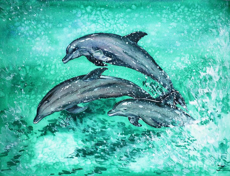 дизайнер подберет фото и рисунки дельфинов монте