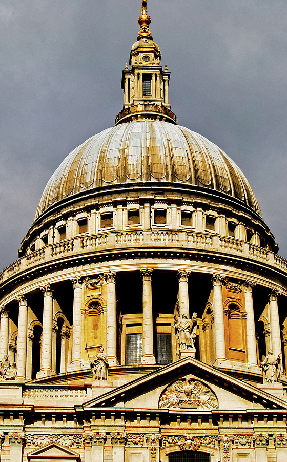 Britain Photograph - Dome Of St. Pauls Cathedral by Christi Kraft