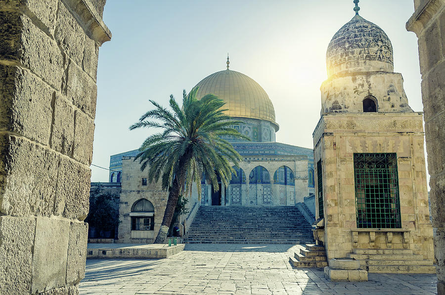 Dome Of The Rock, Jerusalem, Israel Photograph by Fredfroese