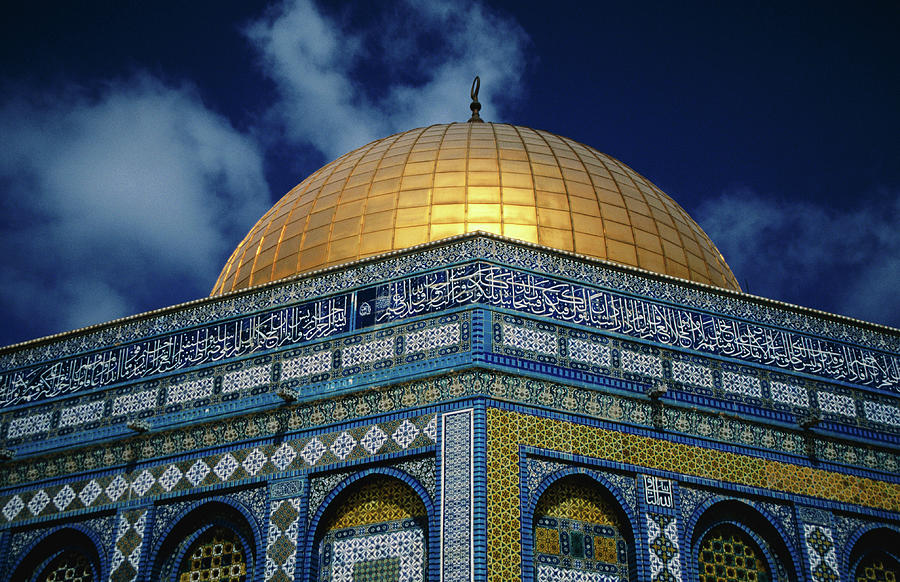 Dome Of The Rock, Old City Of Jerusalem Photograph by Hanan Isachar