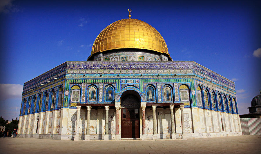Dome Photograph - Dome Of The Rock by Stephen Stookey