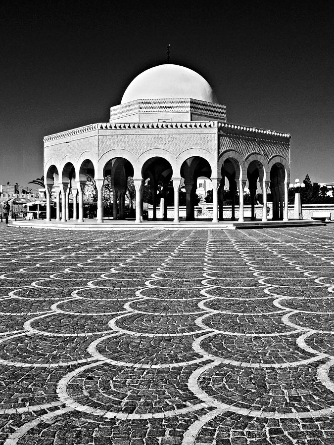 Domed Photograph - Domed Building / Tunisia by Barry O Carroll