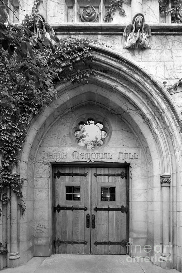 Catholic Photograph - Dominican University Lewis Memorial Hall by University Icons