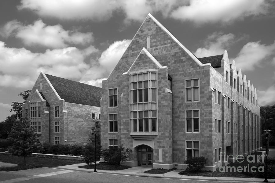 Catholic Photograph - Dominican University Parmer Hall by University Icons