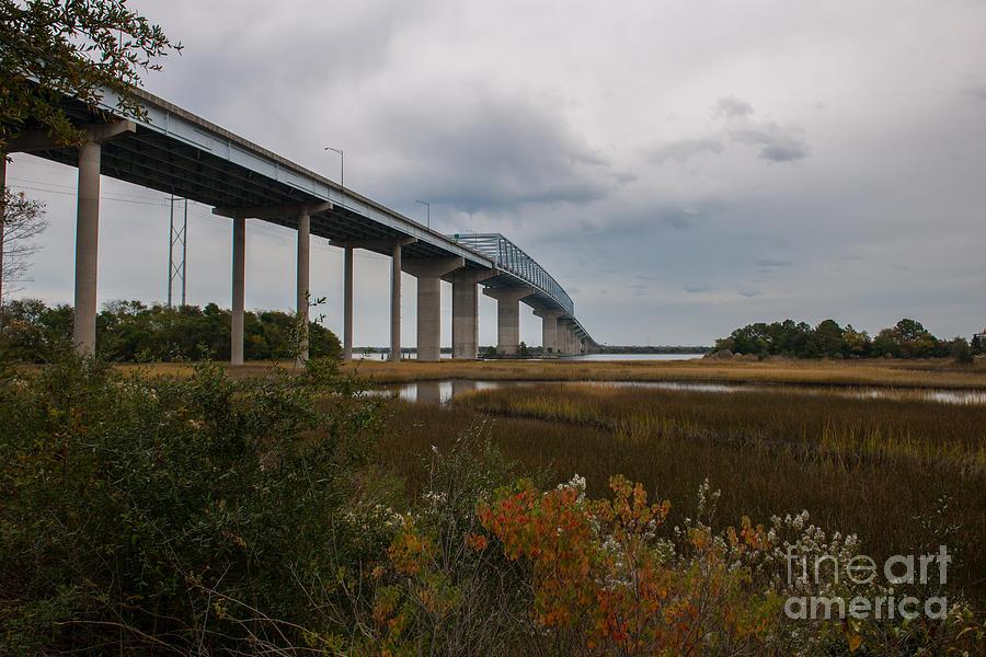 Don Holt Bridge Marshland Photograph