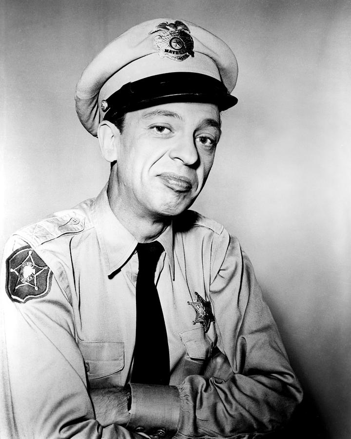 The Andy Griffith Show Photograph - Don Knotts In The Andy Griffith Show  by Silver Screen