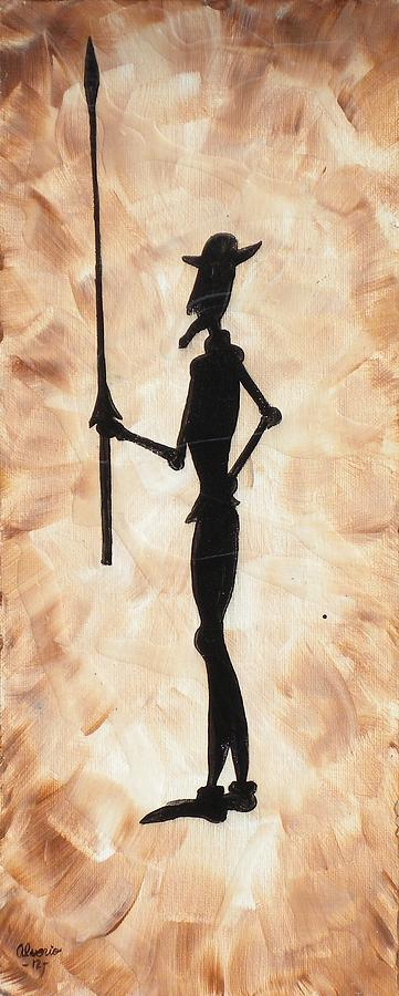 Don Painting - Don Quijote by Edwin Alverio