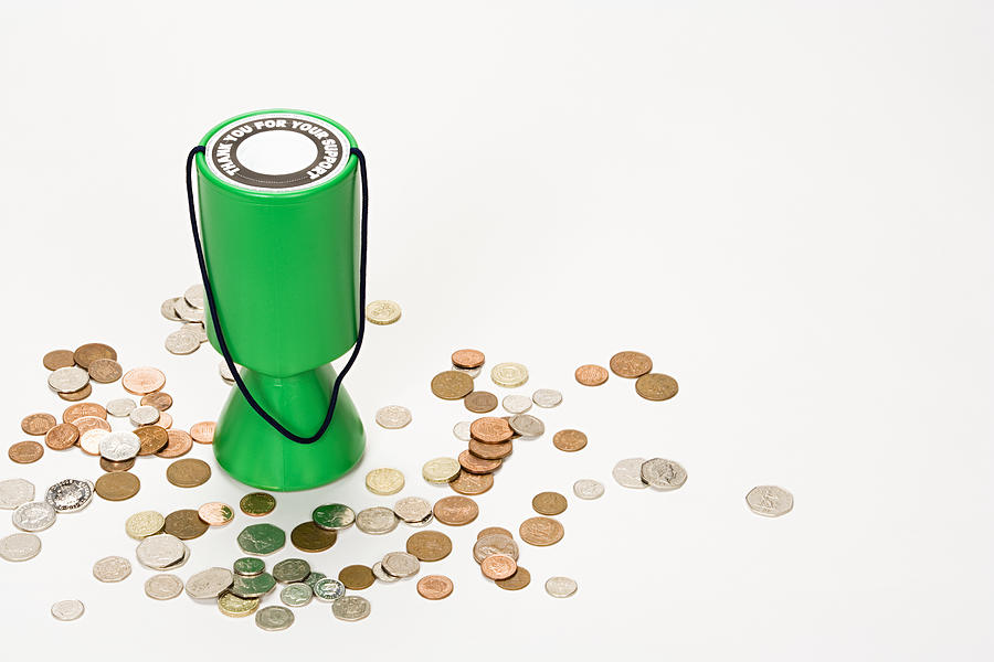 Donation box Photograph by Image Source