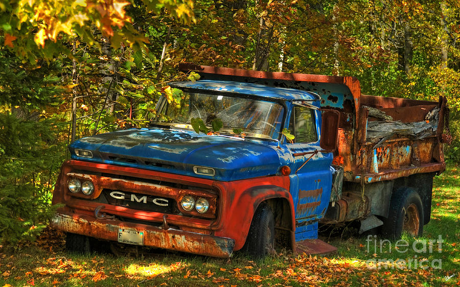 Hdr Photograph - Done Hauling  by Alana Ranney