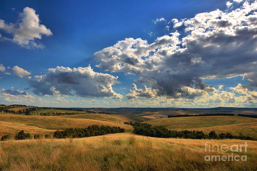 Landscape Photograph - Donny Brook Hills by Joy Watson