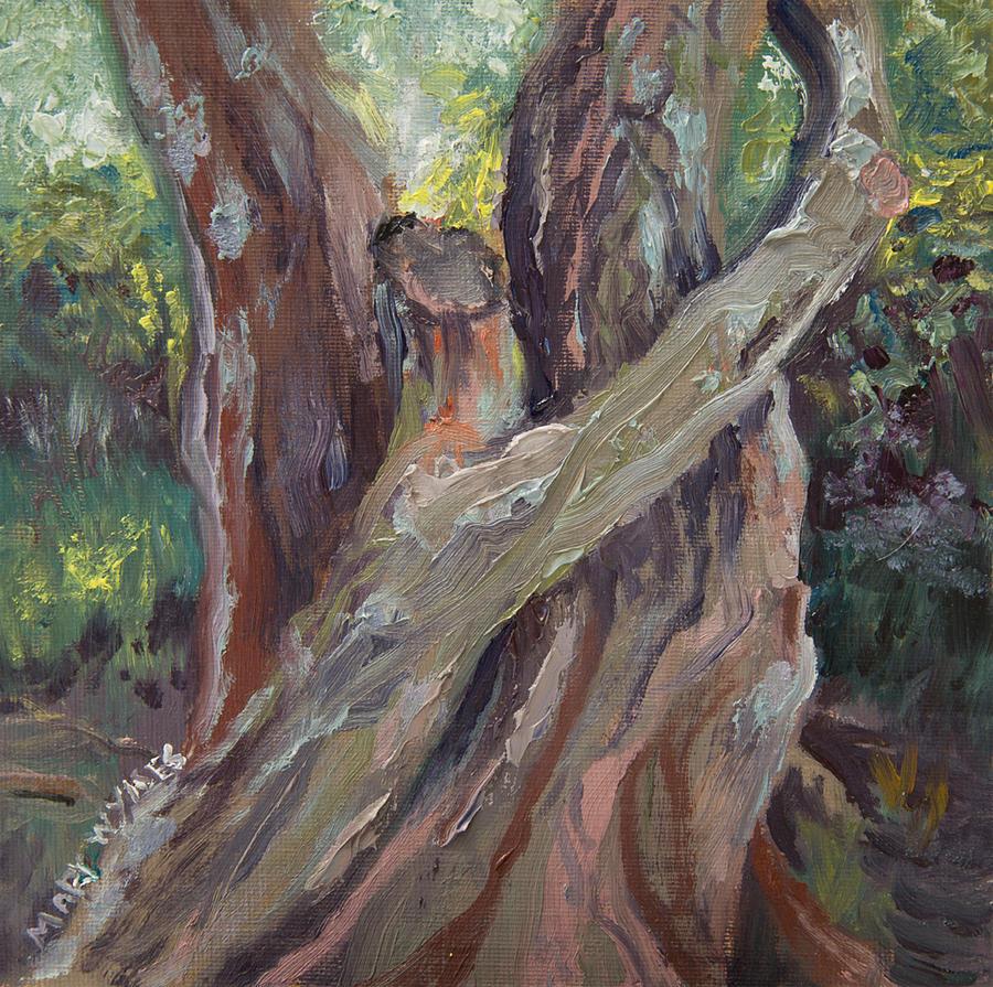 Faithfulness Painting - Wait for Me by Mary Beglau Wykes