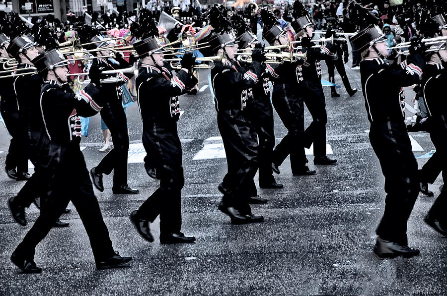 Parade Photograph - Dont Let The Parade Pass You By by Bill Cannon