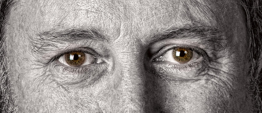 Man Photograph - Dont Let The Stars Get In Your Hazel Eyes by James BO  Insogna