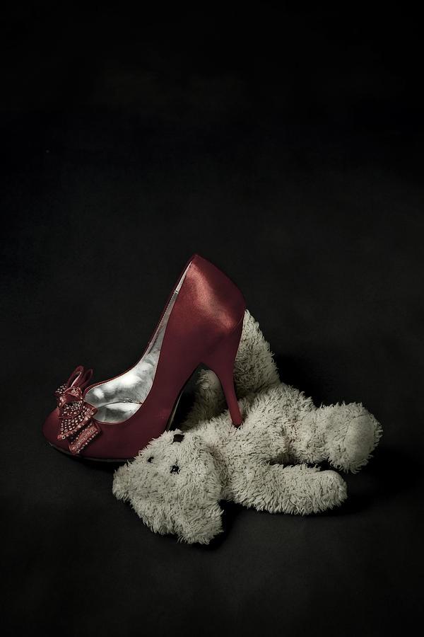 Shoe Photograph - Dont Step On Me by Joana Kruse