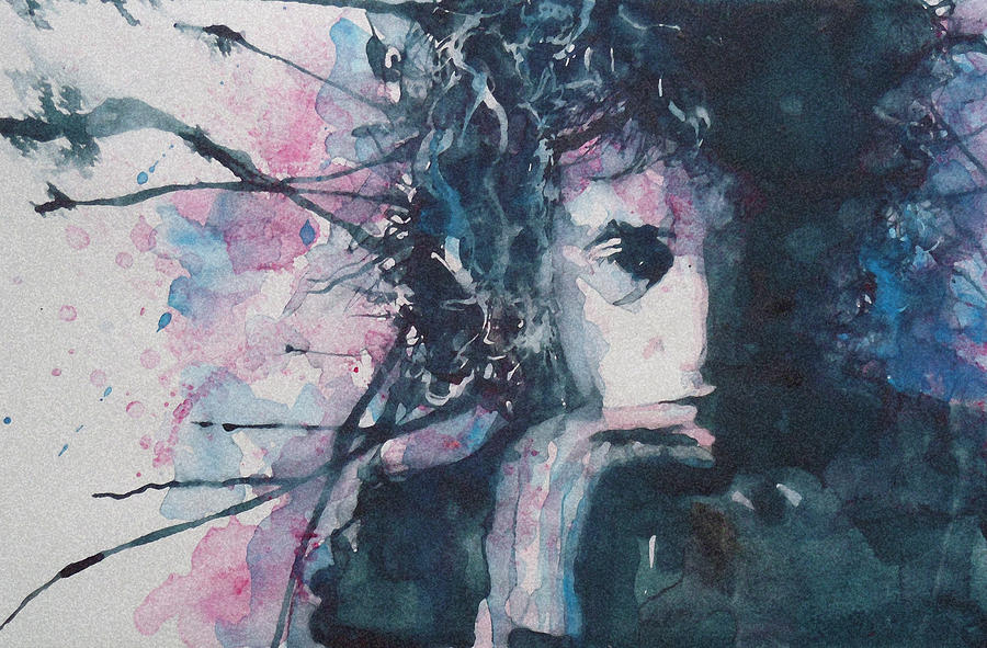 Bob Dylan Painting - Dont Think Twice Its Alright by Paul Lovering