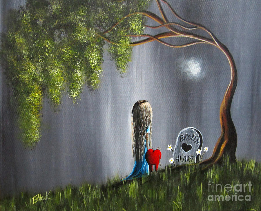 Lowbrow Painting - Dont Worry I Wont Let That Happen To You By Shawna Erback by Erback Art