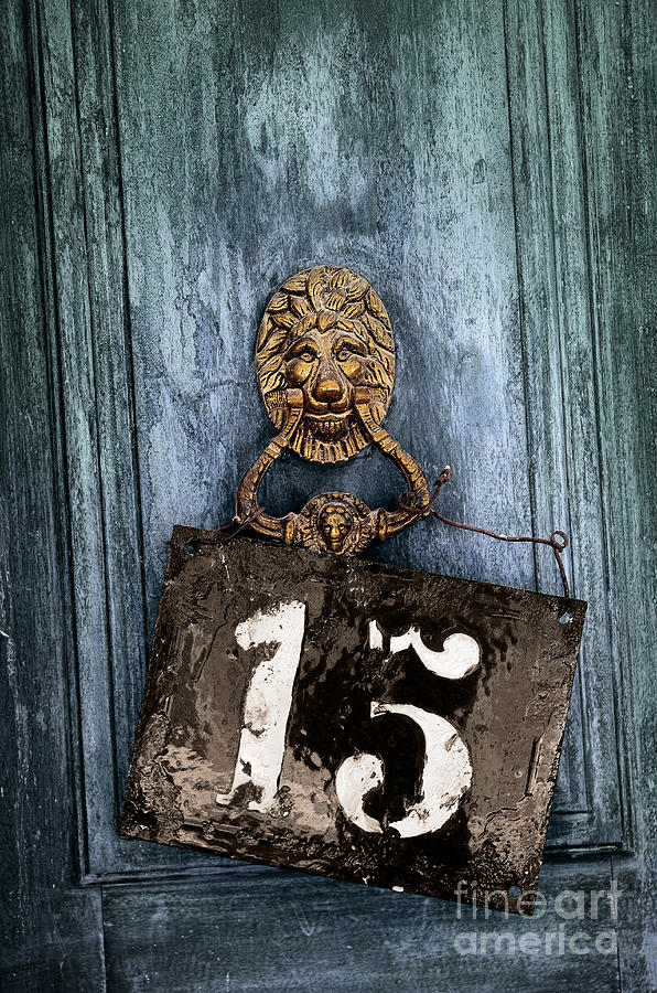 Blue Photograph - Door 15 by Carlos Caetano