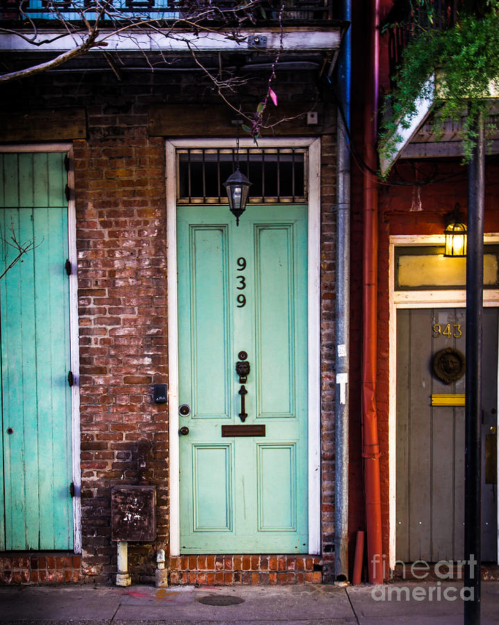 New Orleans Photograph - Door 939 by Perry Webster
