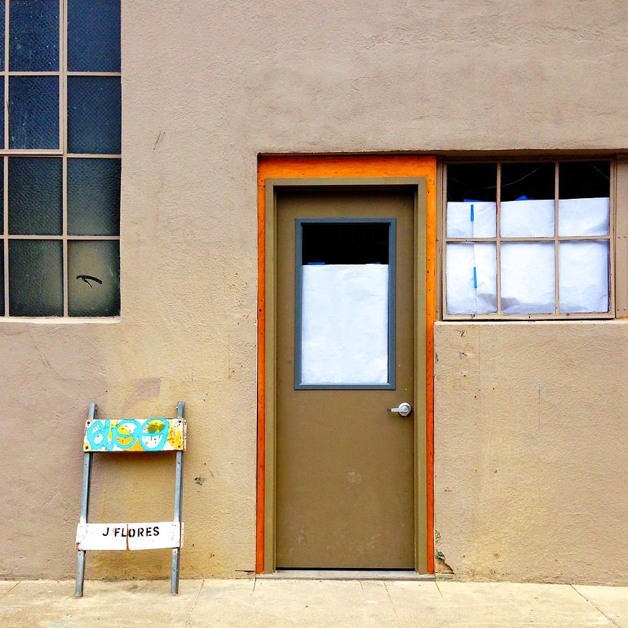 Door And Windows Photograph by Julie Gebhardt