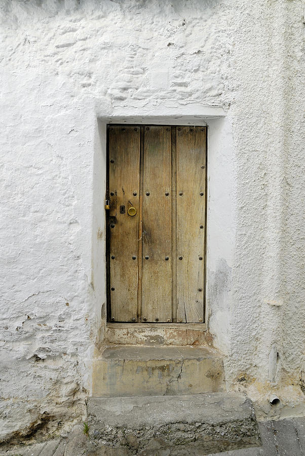 Historic Streets Photograph - Door by Guido Montanes Castillo