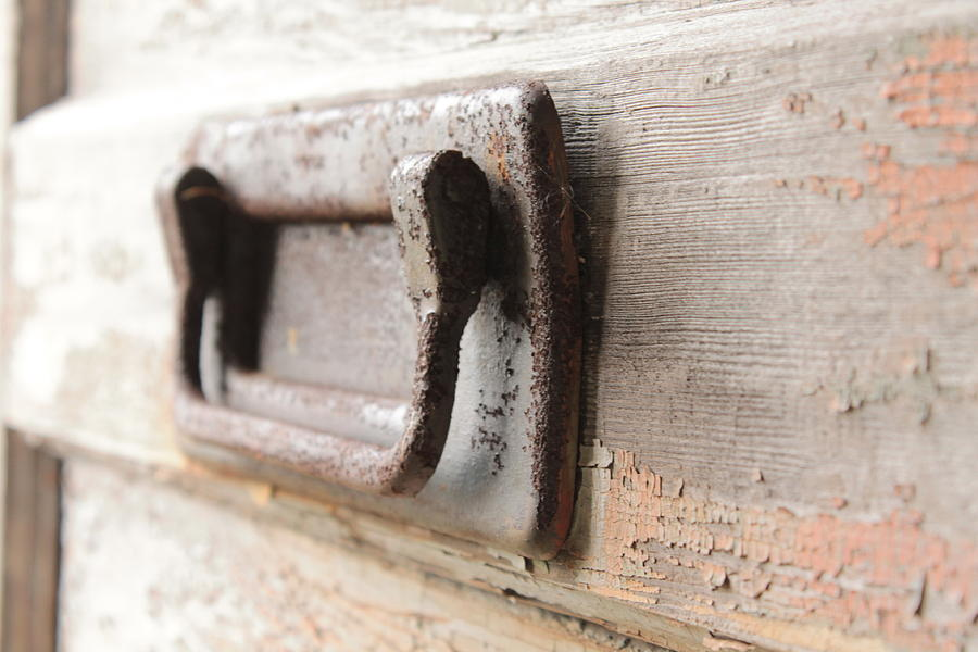 Door Handle Photograph by Wayne Thompson