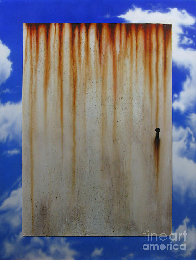 Door Painting - Door by Jurek Zamoyski